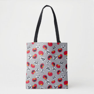 Elmo | Aw Yeah, Awesome Pattern Tote Bag