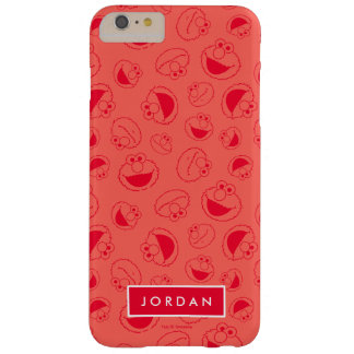 Elmo   Awesome Red Pattern Barely There iPhone 6 Plus Case
