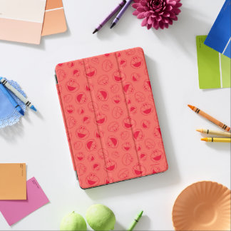Elmo | Awesome Red Pattern iPad Air Cover