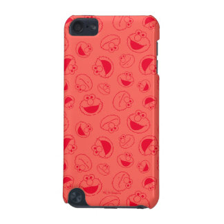 Elmo | Awesome Red Pattern iPod Touch (5th Generation) Case
