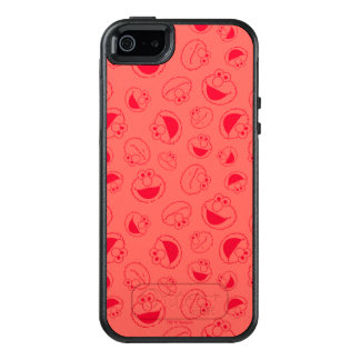 Elmo | Awesome Red Pattern OtterBox iPhone 5/5s/SE Case