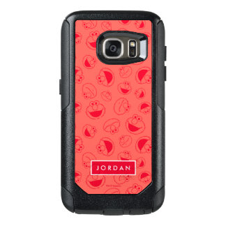 Elmo | Awesome Red Pattern OtterBox Samsung Galaxy S7 Case