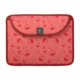 Elmo | Awesome Red Pattern Sleeve For MacBooks