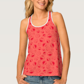 Elmo | Awesome Red Pattern Tank Top