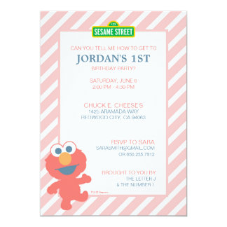 Elmo Baby Birthday Card