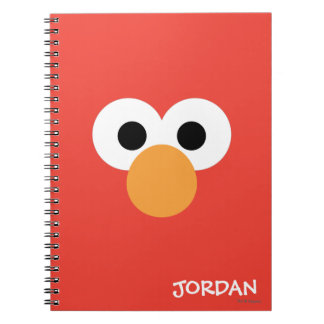 Elmo Big Face | Add Your Name Notebook