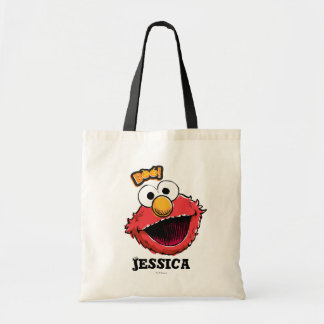 Elmo - Boo! | Add Your Name Tote Bag