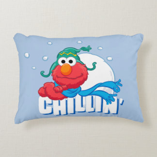 Elmo Chillin' Accent Pillow