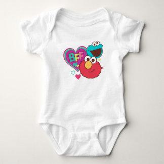 Elmo & Cookie Monster - BFF Baby Bodysuit