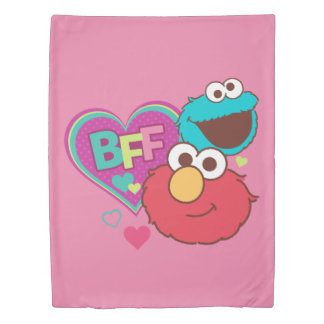 Elmo & Cookie Monster - BFF Duvet Cover
