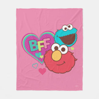 Elmo & Cookie Monster - BFF Fleece Blanket