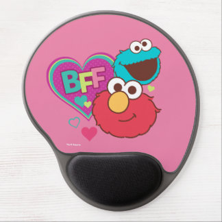 Elmo & Cookie Monster - BFF Gel Mouse Pad