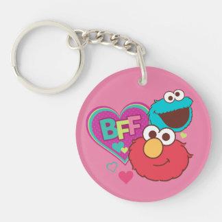 Elmo & Cookie Monster - BFF Keychain