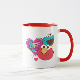 Elmo & Cookie Monster - BFF Mug