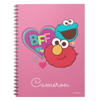 Elmo & Cookie Monster - BFF Spiral Notebook