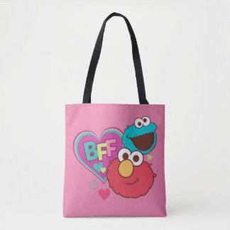 Elmo & Cookie Monster - BFF Tote Bag