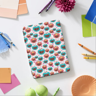 Elmo & Cookie Monster | Peace & Love Pattern iPad Air Cover