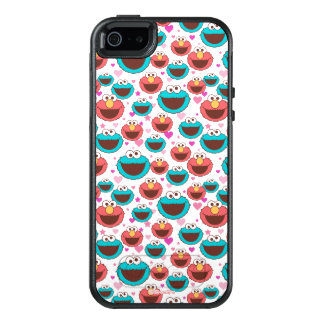 Elmo & Cookie Monster | Peace & Love Pattern OtterBox iPhone 5/5s/SE Case