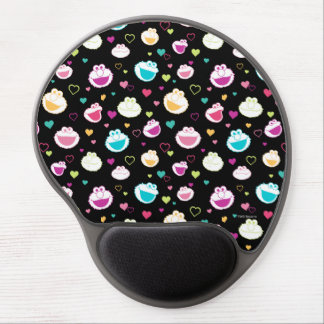 Elmo & Cookie Monster | Sweet Stuff Heart Pattern Gel Mouse Pad