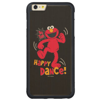 Elmo | Do the Happy Dance Carved® Maple iPhone 6 Plus Bumper Case