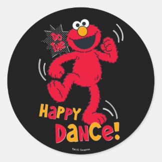 Elmo | Do the Happy Dance Classic Round Sticker
