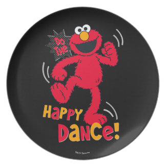 Elmo | Do the Happy Dance Dinner Plate