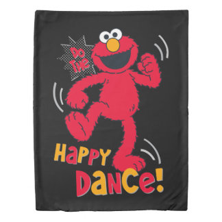 Elmo | Do the Happy Dance Duvet Cover