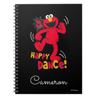 Elmo | Do the Happy Dance Notebook