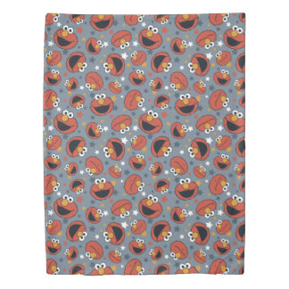 Elmo | Elmo Rules Star Pattern Duvet Cover