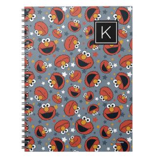 Elmo | Elmo Rules Star Pattern | Monogram Notebook
