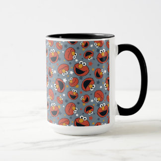 Elmo | Elmo Rules Star Pattern Mug