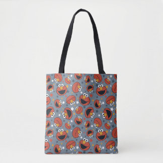 Elmo | Elmo Rules Star Pattern Tote Bag