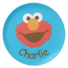 Elmo Face | Add Your Name Plate