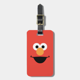 Elmo Face Art Bag Tag
