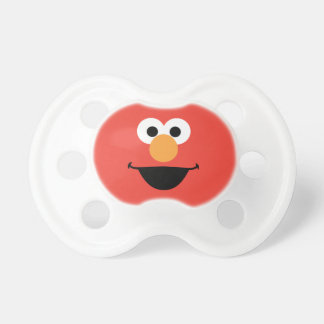 Elmo Face Art Pacifier