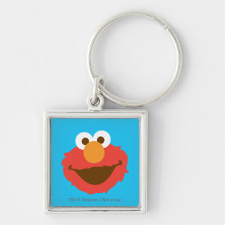 Elmo Face Keychain