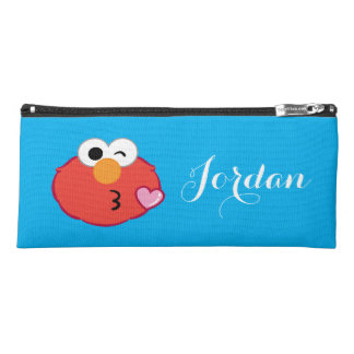 Elmo Face Throwing a Kiss | Add Your Name Pencil Case