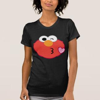Elmo Face Throwing a Kiss T-Shirt
