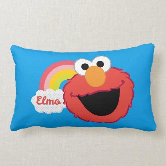 Elmo Girl Lumbar Pillow