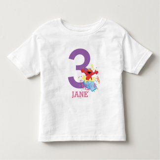Elmo Girl's Birthday Toddler T-shirt