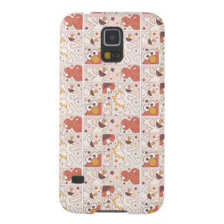 Elmo | Happy Little Monster Comic Pattern Galaxy S5 Cover