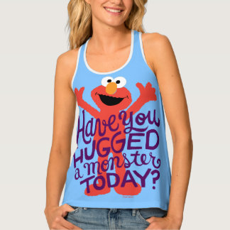 Elmo Hugging Tank Top