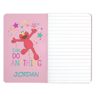 Elmo | I Can Do Anything | Add Your Name Journal