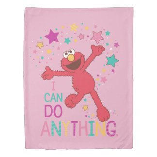 Elmo | I Can Do Anything Duvet Cover