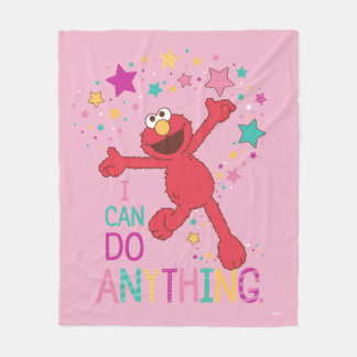 Elmo | I Can Do Anything Fleece Blanket