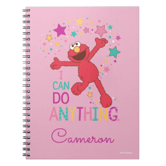 Elmo | I Can Do Anything Spiral Notebook