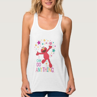 Elmo   I Can Do Anything Tank Top