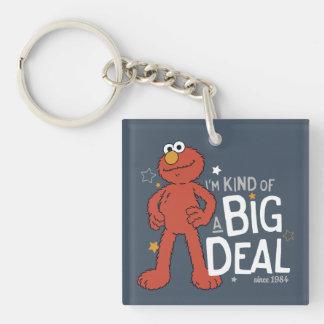 Elmo | I'm Kind of a Big Deal Double-Sided Square Acrylic Keychain