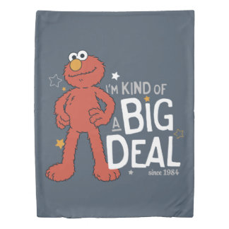 Elmo | I'm Kind of a Big Deal Duvet Cover