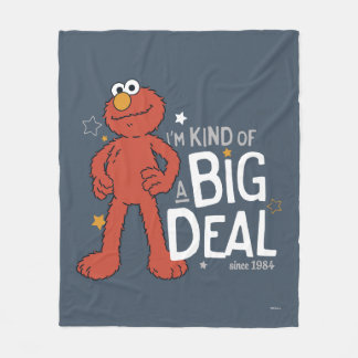 Elmo | I'm Kind of a Big Deal Fleece Blanket